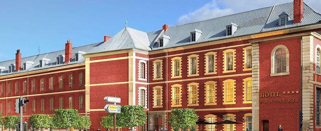 Résidence Mirabeau à Douai éligible monuments historiques : osez la pierre de prestige