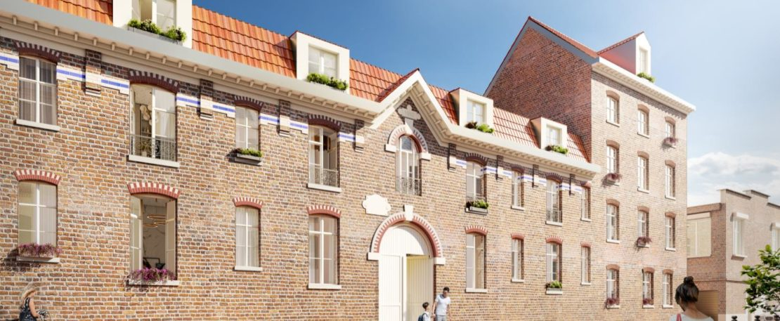 Vieux-Lille : résidence Les Pénitentes (Loi Malraux)