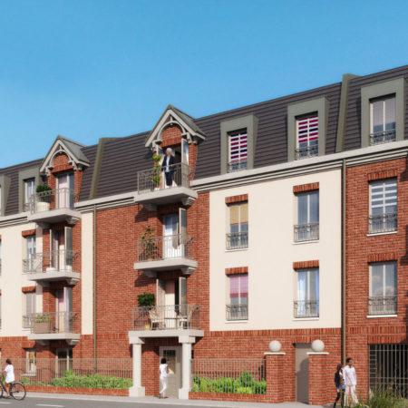 Le Carré des Sens: programme immobilier neuf éligible PINEL à Valenciennes